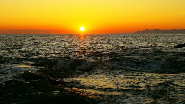 Sunset in Elba